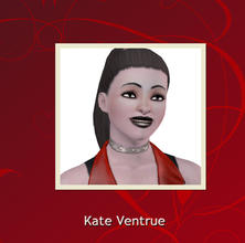 Sims 3 — Kate Ventrue. by Lady_Dane — Kate Ventrue belong to the vampire clan, Ventrue. she has moved out on her own,