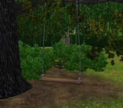 Sims 3 — Balancoire double by lilliebou — Hi! This swing is just a normal seat, it is not a real swing. Two sims can sit