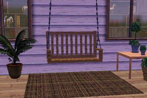 Sims 3 — Balancoire calin by lilliebou — Hi! This swing is just a normal seat, it is not a real swing.