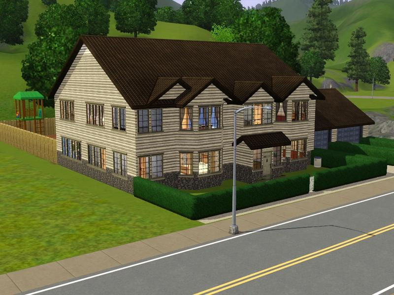 Dramaqueen000 39 s the mini mansion a 7 bedroom 6 bathroom for Mini mansions houses
