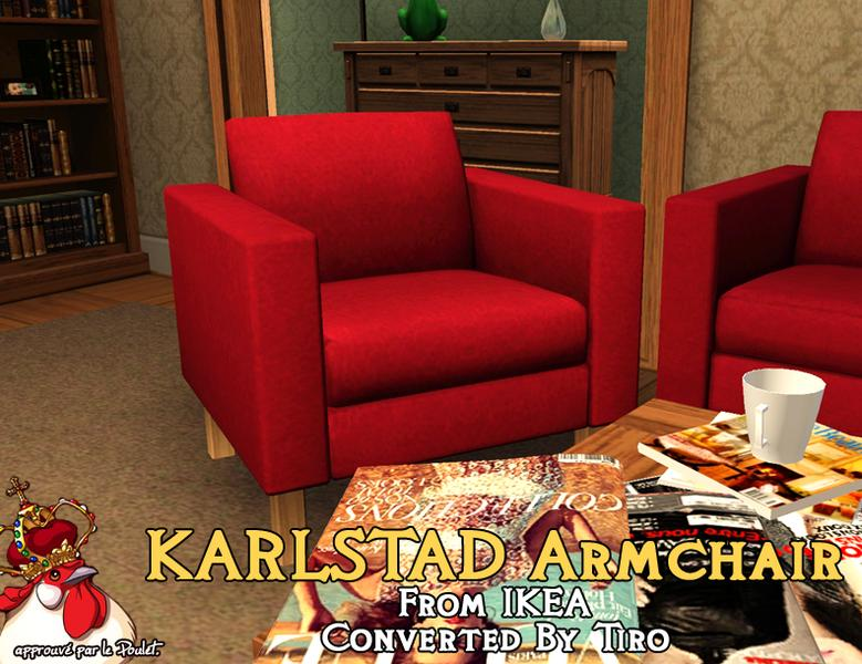 Tiro22222's KARLSTAD Armchair.. for the Sims 3