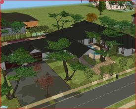 Sims 2 — 306 Sacramento Drive by Anakin_Stupaine — Bungalow style villa (so no PageUp and PageDown buttons to push) with