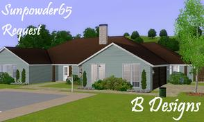 Sims 3 — B Designs Sunpowder65 Request by littleb920 — B Designs Sunpowder65 Request is a lot that I made as a request.