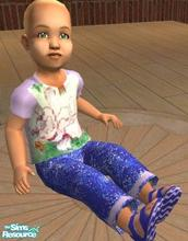 Sims 2 — my little pony jeans and t-shirt no.2 by melaniecox — My second little pony outfit has been done in lilac, and