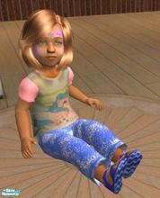 Sims 2 — My little Pony  T-shirt and Jeans by melaniecox — After doing my Poll on my mini site, I took the results very
