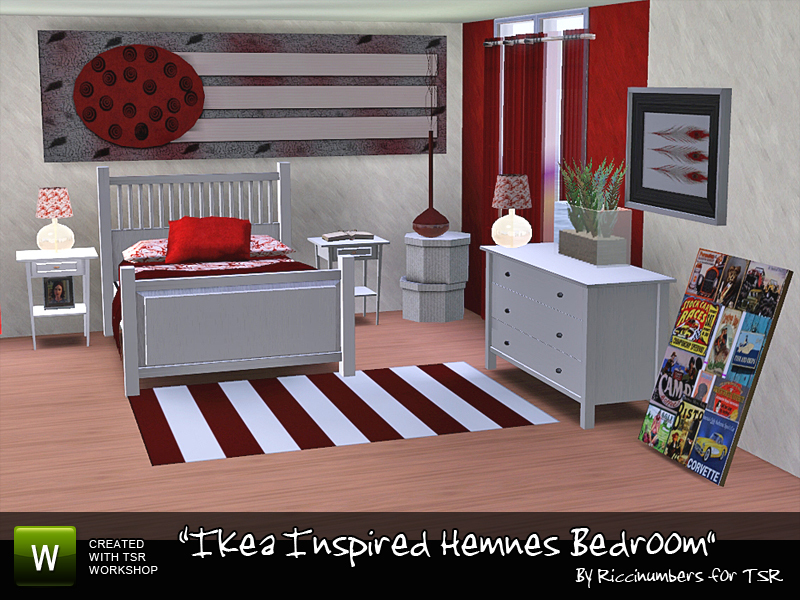 TheNumbersWoman\'s Ikea Inspired Hemnes Bedroom