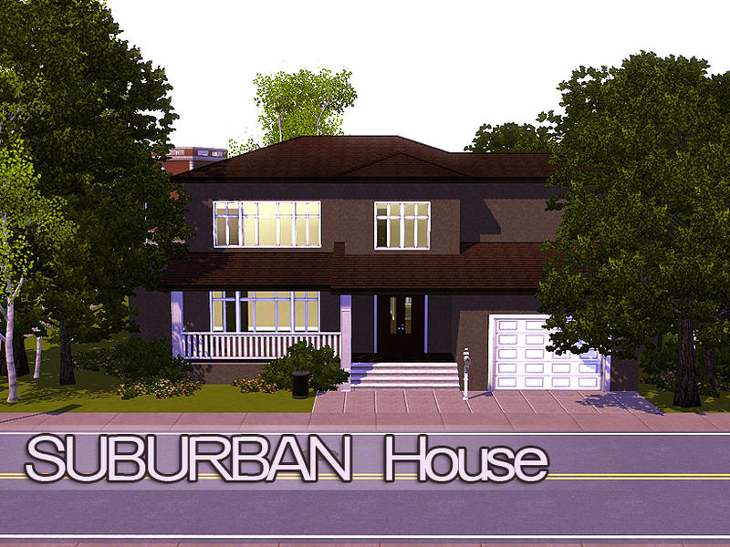 bunnshee's suburban house