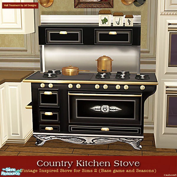 Country Kitchen Range: Cashcraft's Country Kitchen Stoves