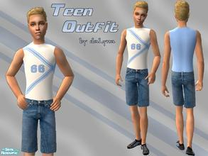Sims 2 — Outfit 006 by daLyna — Teen Outfit ..:: Enjoy! ::..