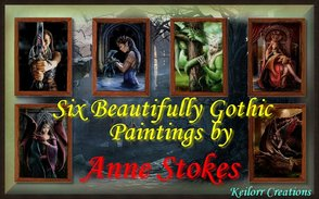 Sims 3 — Gothic Art By Anne Stokes by keilorr — Gothic Art By Anne Stokes. Consisting of six beautifully Gothic pictures