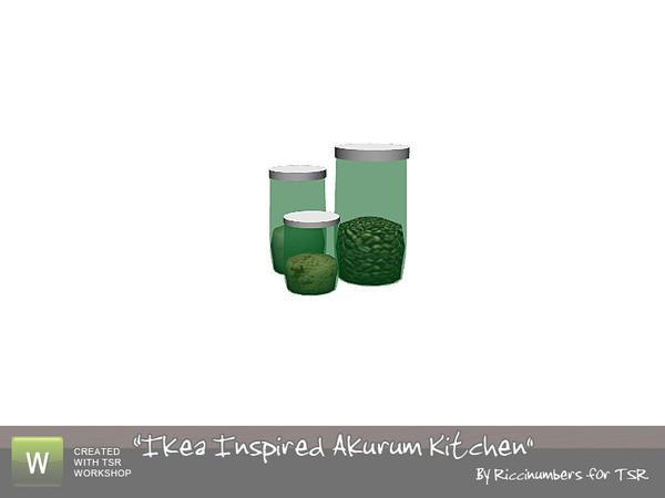 thenumberswoman s ikea akurum kitchen canisters