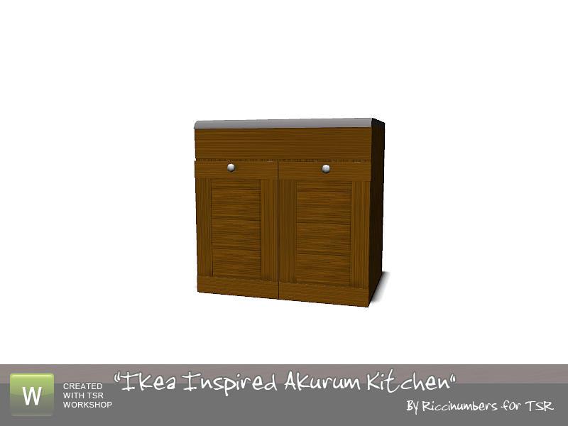 Ikea Akurum Credenza : Thenumberswomans ikea akurum kitchen counter two