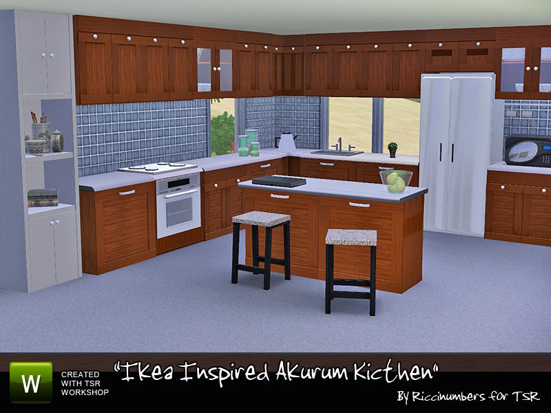 Good Ikea Inspired Akurum Kitchen