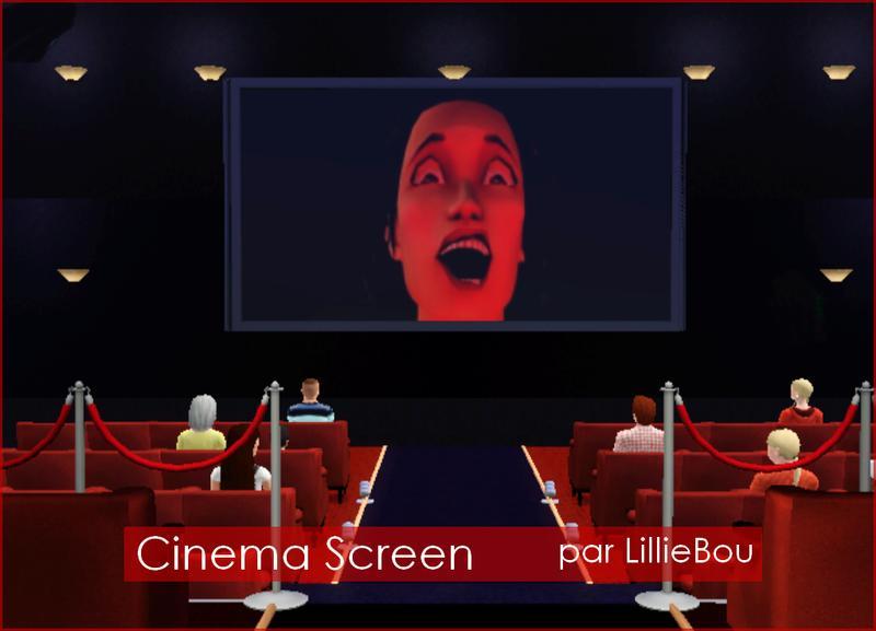Lilliebou S Cran De Cinma Cinema Screen