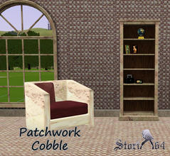 Sims 3 — Patchwork Cobble by stori_64 — Pattern in cobblestone patchwork style