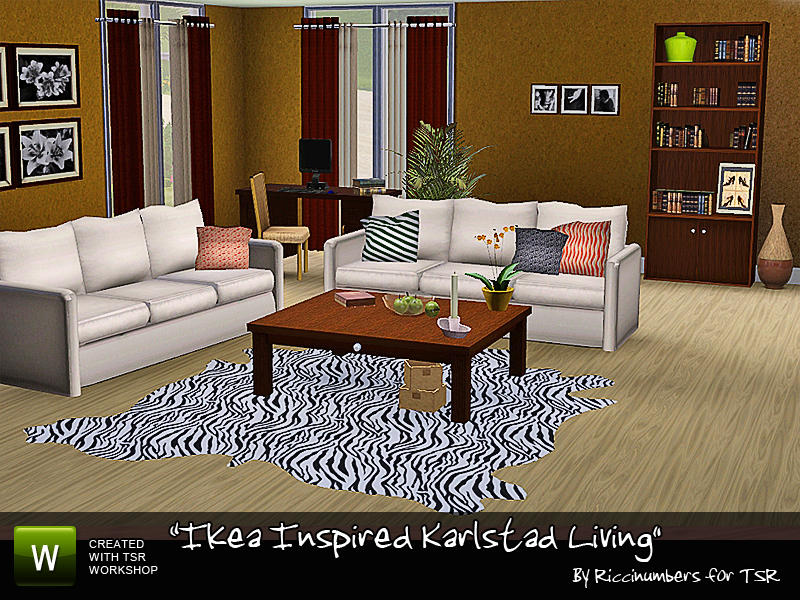 TheNumbersWomans Ikea Inspired Karlstad Living