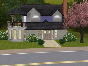 Sims 3 — 178 Savannah Lane: 2 story quite and quainte home by charmedtink — This tiny but spacious 2 story home is