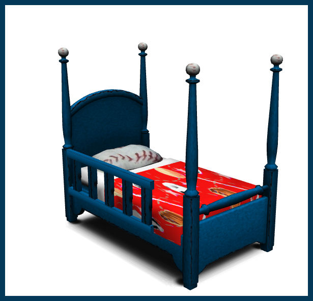 Rebecahs Baseball Set Toddler Bed