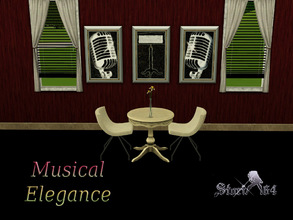 Sims 3 — MusicalElegance Portrait Set by stori_64 —