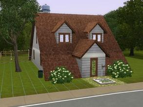 "Sims 3 — 89 Sweetwater Loop: ""A"" frame home by charmedtink — This ""A"" frame house includes 2"