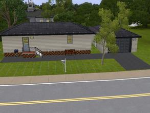 Sims 3 — Trailer Haven by charmedtink — This trailer is the perfect home for that loner sim. This trialer includes a