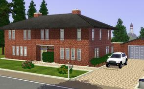 Sims 3 — The Sarilyn by Anakin_Stupaine — This medium-sized-family villa, capable of housing 4 to 6 persons easily,