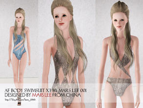 Sims 3 — af body swimsuit SEXY BY MARS LEE 001 by kerm_2046 — http://blog.163.com/kerm_2046/