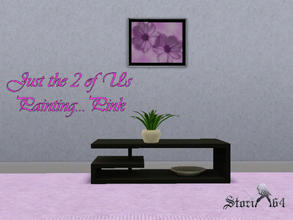 Sims 3 — JustThe2ofUsPortrait_Pink by stori_64 — JustThe2ofUsPortrait_Pink