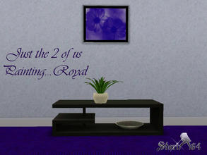 Sims 3 — JustThe2ofUsPortrait_Royal by stori_64 — JustThe2ofUsPortrait_Royal
