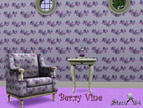 Sims 3 — Berry Vine by stori_64 — Pattern of Berry Vines for your kitchen and/or bathroom