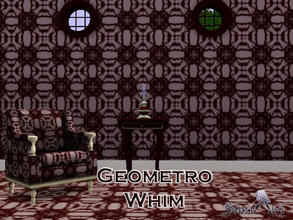 Sims 3 — Geometro Whim by stori_64 — Geometric shapes combined closely