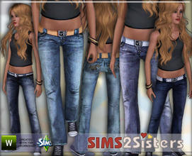 Sims 3 — S2S Jeans for Teen by sims2sisters — Jeans for Teen by Sims2Sisters