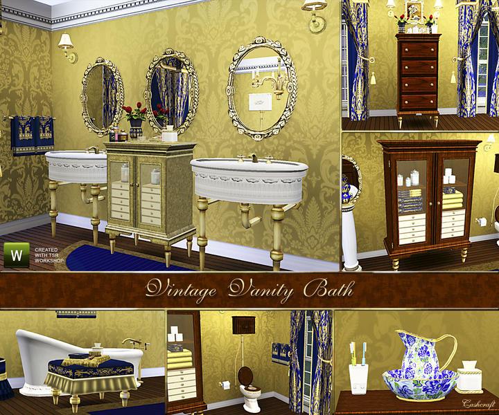 Cashcraft S Vintage Vanity Bath