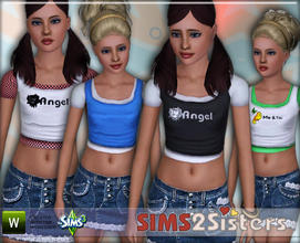 Sims 3 — S2S T-shirt by sims2sisters — T-shirt for teen by Sims2Sisters