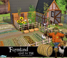 Sims 2 — Farmland by ayyuff — 22 ground covers