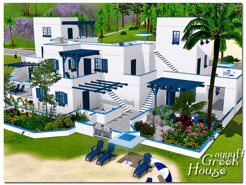 Ayyuff 39 s greek houses furnished for Beach house 3 free download