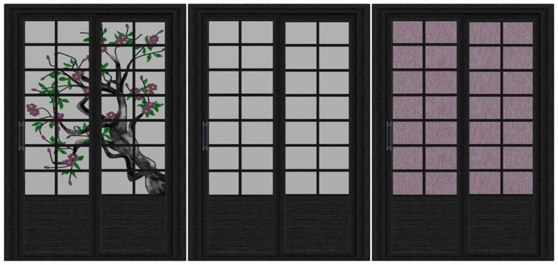 Oriental Sliding Door Version 1