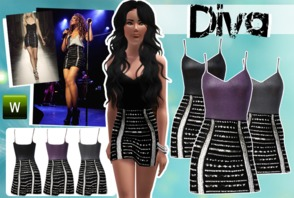 Sims 3 clothing 39 beyonce 39 - Beyonce diva download ...