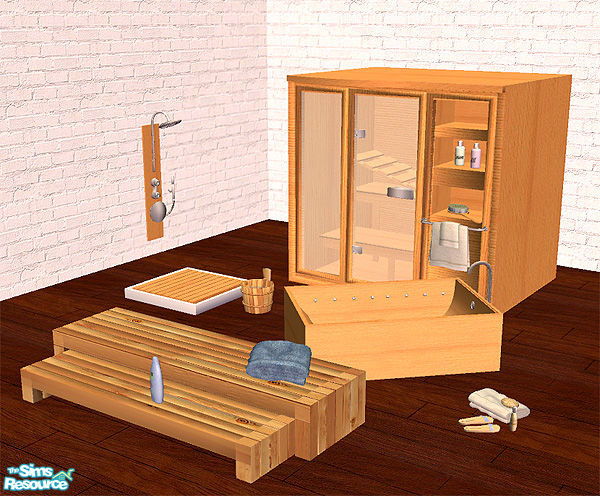 Sims 3 Sauna