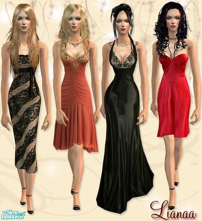 Женские выходные костюмы
