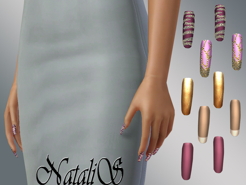 NataliS Super long nails
