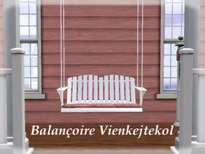 Sims 3 —  by lilliebou — Hi =) This is a porch swing for your house. You can find it in Misc. Comfort for 200 Simoleons.