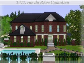 Sims 3 —  by lilliebou — Hi! :) This house has a very rich style, indoor as much as outdoor, that's why it is so