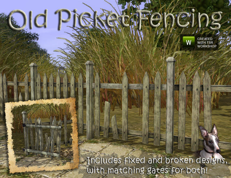 Cyclonesue S Picket Fences