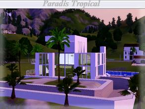 Sims 3 — Spanish Dream, Paradis Tropical by lilliebou — Hi =) Here are the rooms of this house: First floor: -Living room