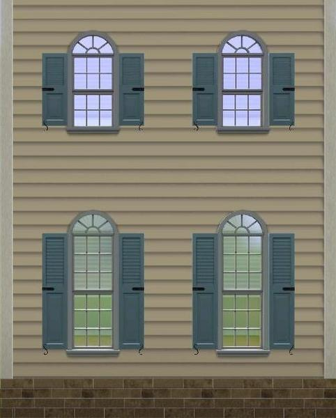 Missyzim 39 s colonial window match set for Colonial windows and doors