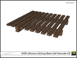 Sims 3 — DNZ Column Ceiling Beam Set Veranda V3 by denizzo_ist — 2 recolorable parts and 2 variations I wish you like it