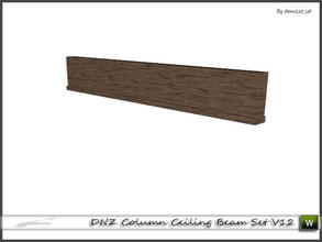Sims 3 — DNZ Column Ceiling Beam Set V12 by denizzo_ist — 2 recolorable parts and 2 variations I wish you like it ;)