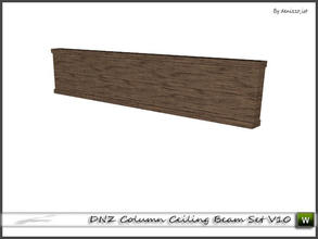 Sims 3 — DNZ Column Ceiling Beam Set V10 by denizzo_ist — 2 recolorable parts and 2 variations I wish you like it ;)