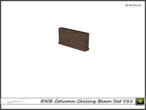 Sims 3 — DNZ Column Ceiling Beam Set V11 by denizzo_ist — 2 recolorable parts and 2 variations I wish you like it ;)